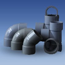 uPVC Solvent Weld Waste Pipe and Fittings